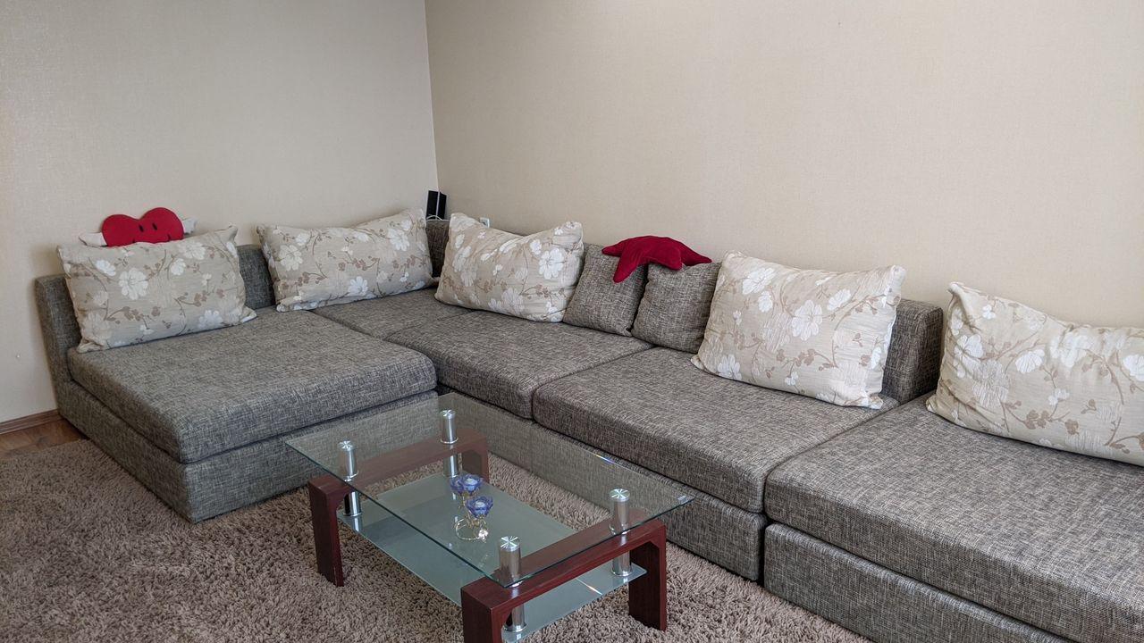 Apartament cu reparatie si mobilat, 3 camere